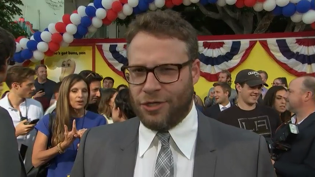 Seth Rogen: 'Hollywood is risk-averse'