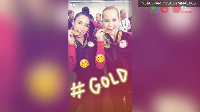 U.S. gymnastics debuts on Instagram Stories