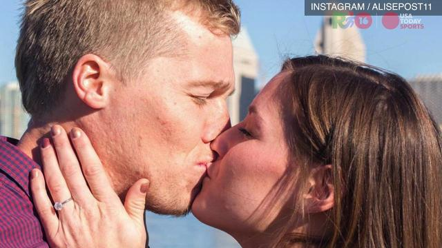 Olympic couples talk love, games