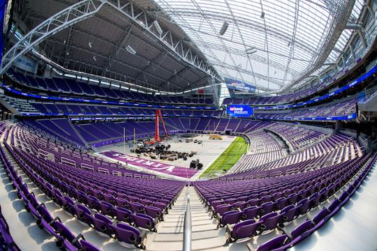 A tour of the Vikings' new stadium