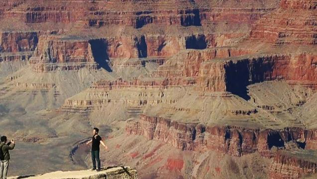 Grand Canyon National Park is as awe-inspiring as you imagine. Video shot by Mark Henle, The Arizona Republic.