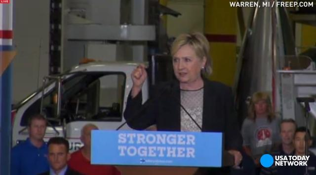 Hillary Clinton lays out her economic plan