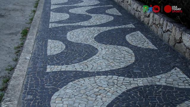 Rio Daily: The patterned, tiled sidewalks