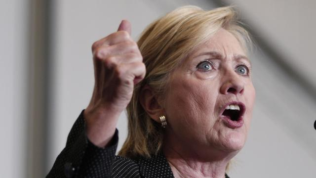 Hillary Clinton released her income tax return