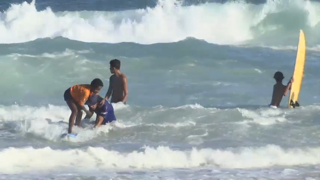 Brazil Surf School Offers Step To Olympic Dreams