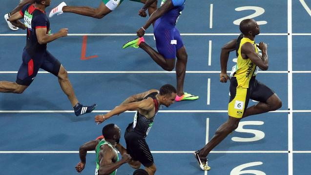 The tale of Usain Bolt's 100-meter win (in 9.81 seconds)