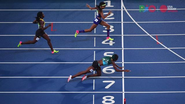 Shaunae Miller: Diving for gold in the 400
