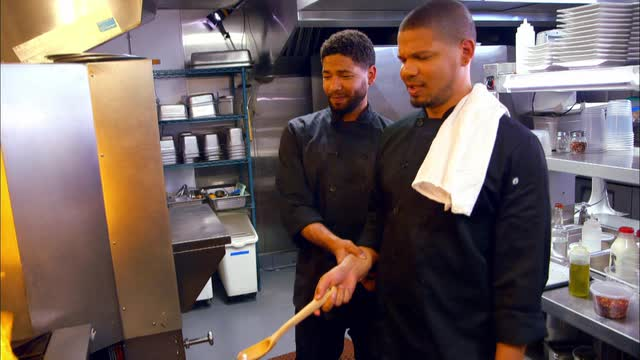 Here's an exclusive sneak peek of one of America's first families of food, the Smolletts, as they braise, bake and grill their way through the week on the Food Network's new show, premiering Aug. 20.
