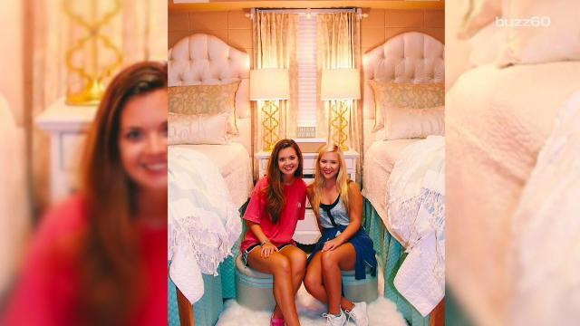 A dorm fit for a princess or a really fancy freshman
