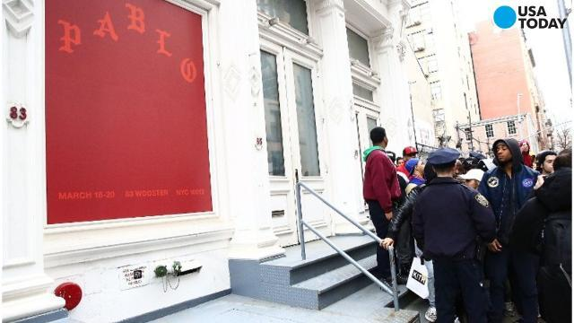 21 'Pablo' pop-up stores to open