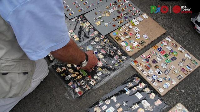 Inside the weird, obsessive world of Olympic pin trading