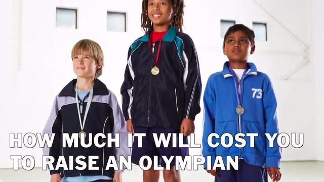 Raising an Olympian is expensive, we'll tell you how much it will cost.