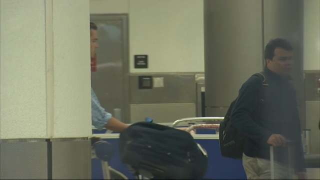 Raw: Swimmers Arrive in Miami from Rio