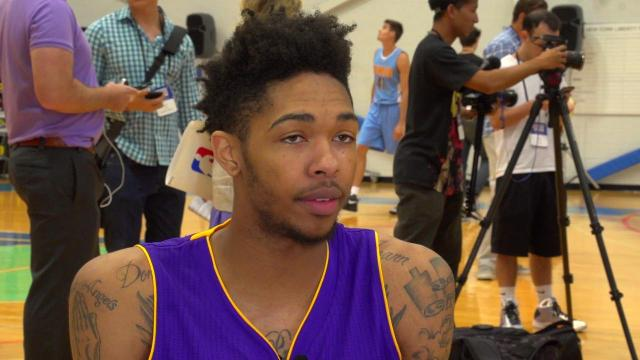 Brandon Ingram can't wait to face idol Kevin Durant