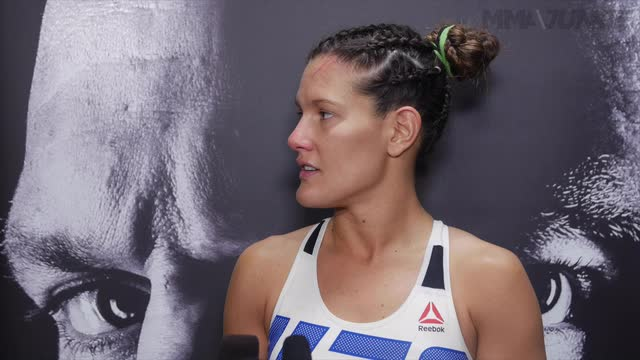 Cortney Casey UFC 202 post-fight interview