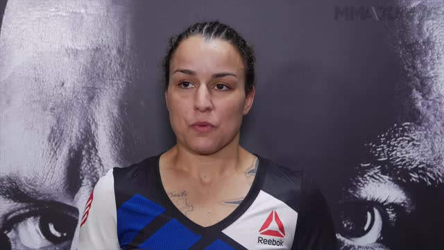 Raquel Pennington UFC 202 post fight interview