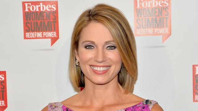 'GMA's' Amy Robach apologizes for on-air racial slur, says it was 'a mistake'