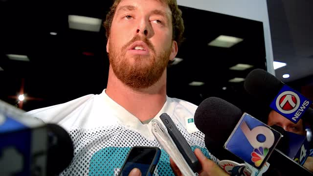 Anthony Steen excited to fill in for Mike Pouncey at center