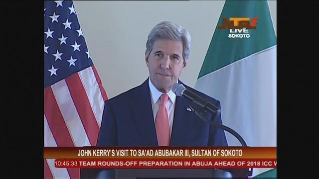 Kerry: U.S. deeply committed to fighting extremism