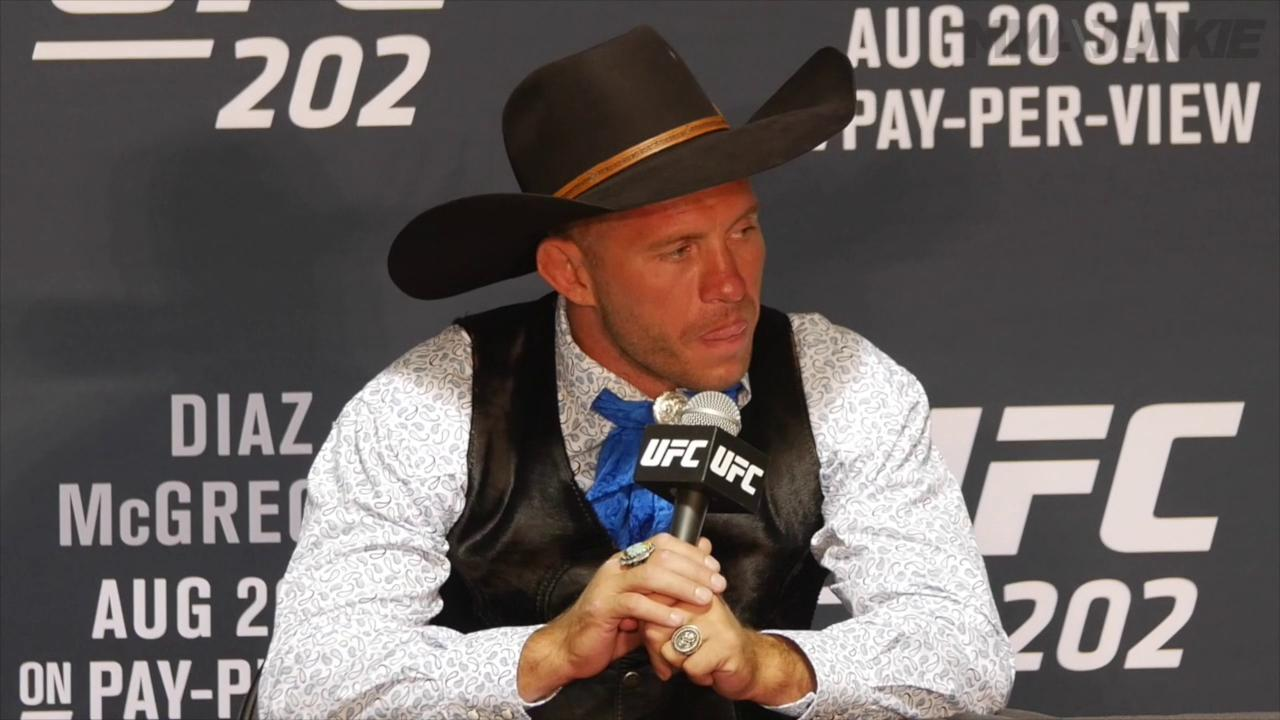 Cowboy Cerrone ready to relax after a big win, but hopes to have a fight set up