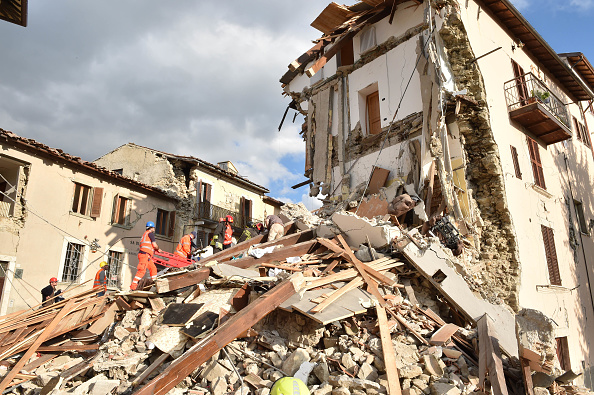 A 6.2 magnitude earthquake hit the center of Italy in the early hours of Wednesday morning, leveling buildings and burying people underneath the rubble.