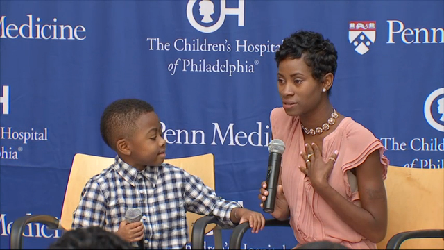 Boy With Double-Hand Transplant Shows Off Hands