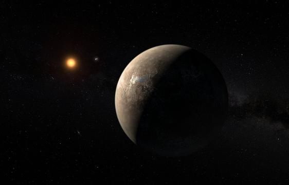 An Earth-like planet has been discovered orbiting the star closest to our sun. The planet is only a bit bigger than Earth and, like Earth, is rocky, and it's the right distance from its star to support liquid on the surface.