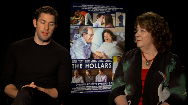 John Krasinski directs family dramedy 'The Hollars'