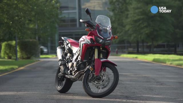 Honda's African Twin is a touring machine