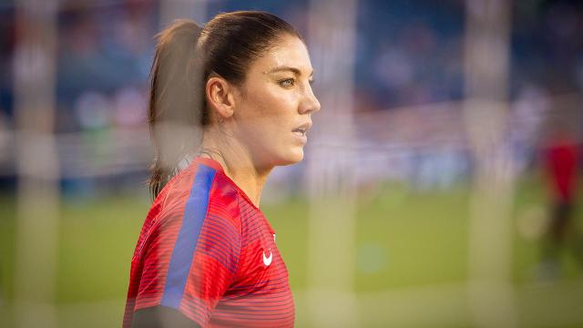 U.S. Soccer suspends Hope Solo for six months for Olympics remarks