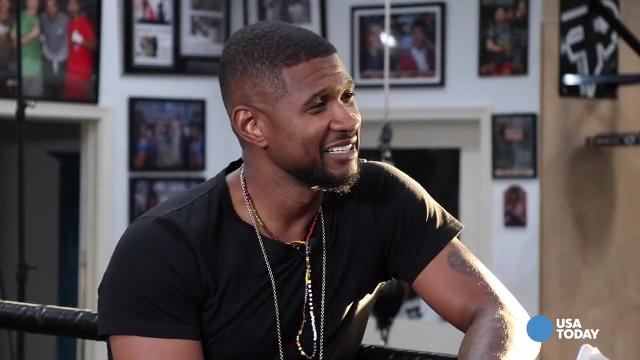 Usher talks about how he would fare in the boxing ring against a variety of opponents.  He portrays boxer Sugar Ray Leonard in 'Hands of Stone.'