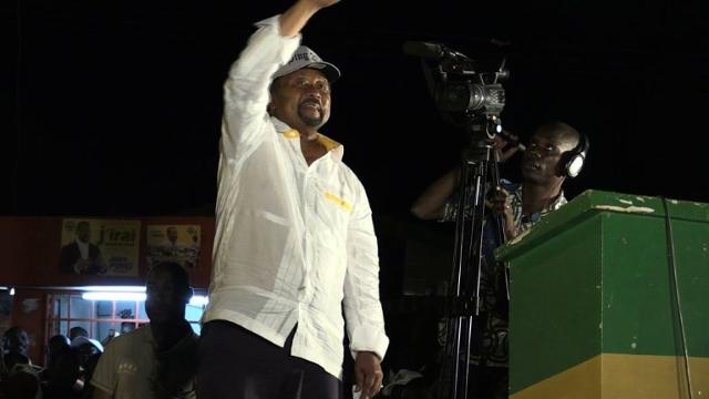 The increasingly disgruntled people of Gabon go to the polls Saturday in a presidential election in which a last-minute opposition pact has robbed incumbent Ali Bongo of a clear run at a second term. Video provided by AFP