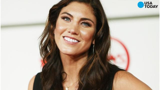 Hope Solo suspended for six months for 'cowards' remark