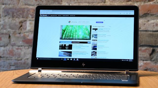 This ultra-thin HP laptop is as beautiful as anything Apple has to offer