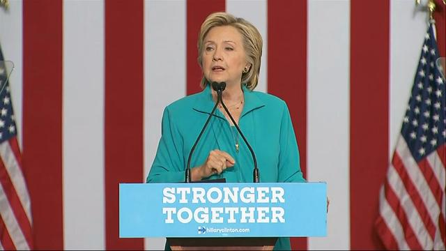 Clinton: Trump taking hate groups mainstream