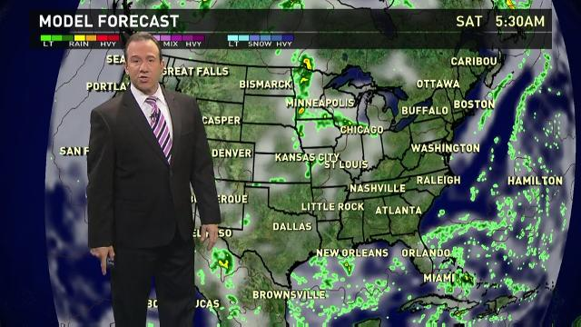 Friday's forecast: Strong storms slam Plains