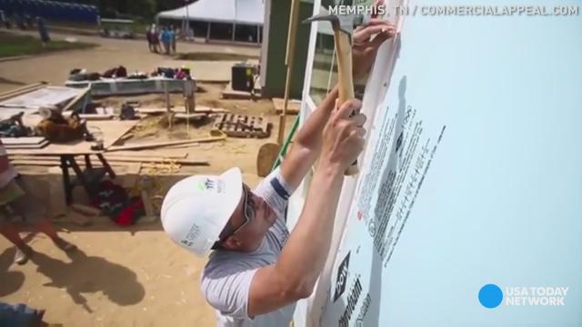 From poverty to leading Memphis Habitat for Humanity