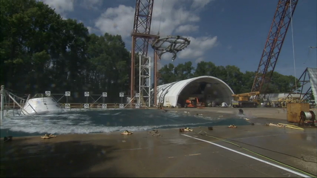 NASA has conducted the second to last splashdown test for its Orion spacecraft as the agency prepares to eventually send humans to Mars. (Aug. 25)