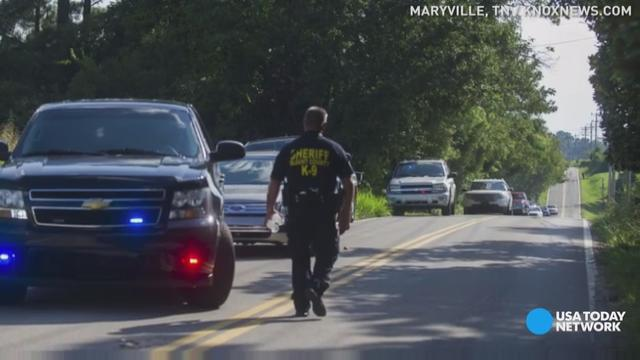A Tennessee police officer has died after answering a domestic violence call. Police say a suspect is in custody.