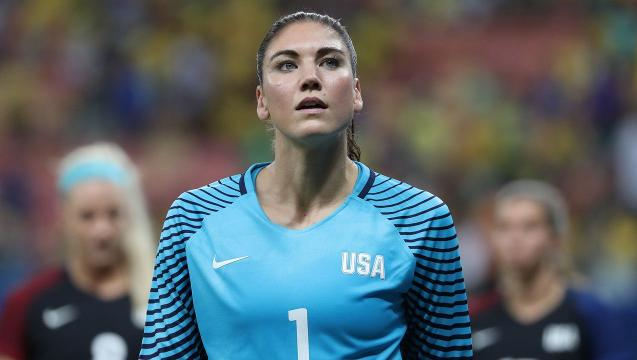 Hope Solo suspended for 'cowards' remark at Olympics