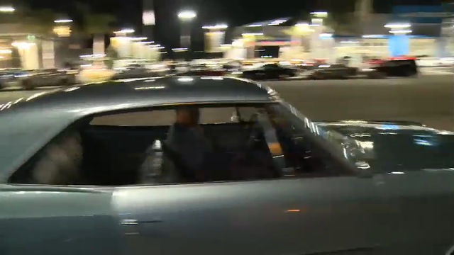 Car and van enthusiasts in Southern California return every third Wednesday of the month to Van Nuys Blvd in Los Angeles. It's here they are attempting to bring back the original cruise night of the 1970's. (Aug. 26)