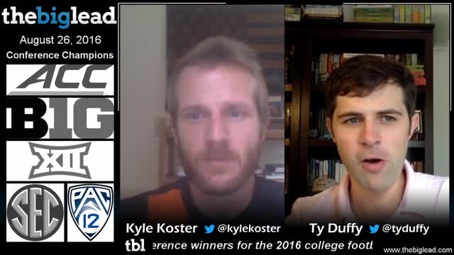 TheBigLead - Kyle and Ty discuss 2016 NCAA Football conference champions.mp4