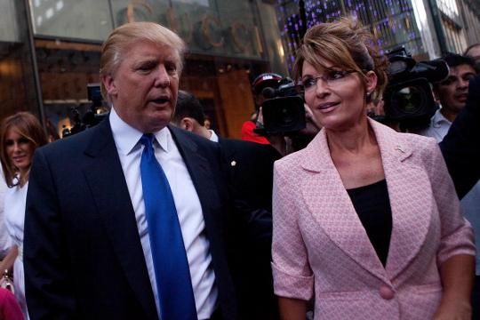"""Former Alaska governor Sarah Palin has warned Donald Trump of """"massive disappointment"""" if he backs down on his plan to deport undocumented immigrants.  Earlier in the week, Trump said his previous plans to deport the estimated 11 million immigrants living in the US illegally could be """"softened.""""  """"Trump didn't garner a lot of enthusiastic support by being soft on anything,"""" Palin said on Fox News, """"but by having a still spine and doing what he knows a majority of Americans want."""""""