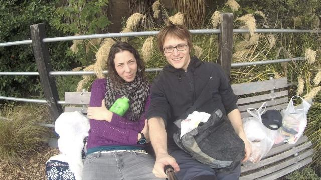 Pavlina Pižova and her partner didn't tell anyone they were going hiking. Video provided by Newsy