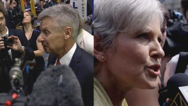 The Green Party's Jill Stein and Libertarian Gary Johnson told Newsy their arguments for voting third party, but a lot of arguments also can be made against doing that. Video provided by Newsy