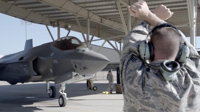 The Pentagon's weapons tester is concerned about The F-35 fighter jet