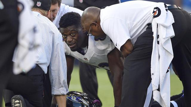 Ravens TE Benjamin Watson out for season after tearing Achilles