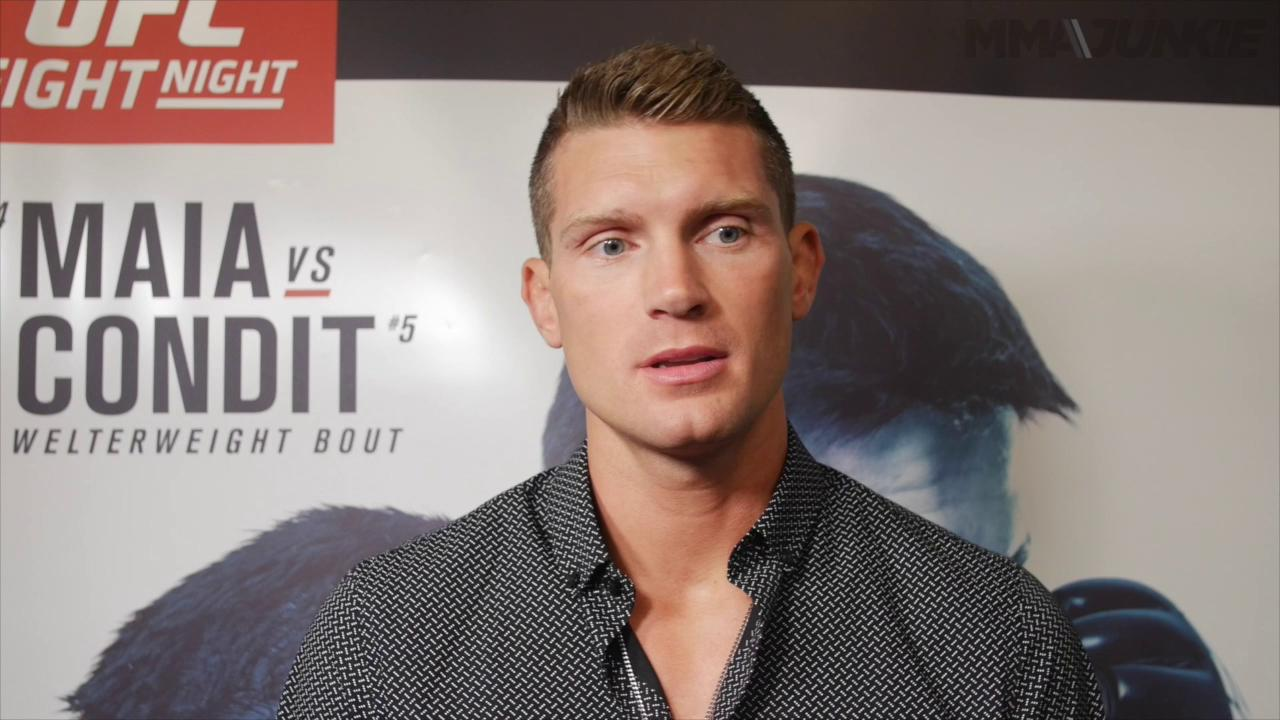 Stephen Thompson thinks champ Tyron Woodley 'is coming up with excuses' to avoid fight