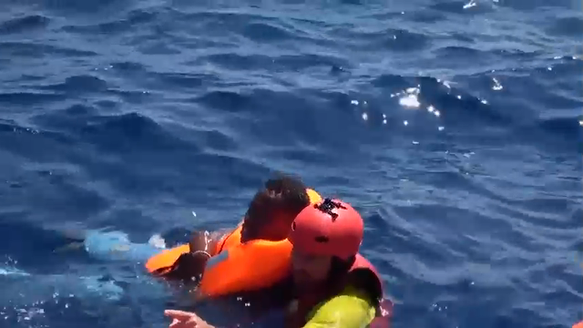 More than seven hundred migrants were rescued at sea off the Libyan coast on Sunday morning by members of a Spanish NGO. They were later transferred to the Italian Coast Guards operating in the zone. (Aug. 28)