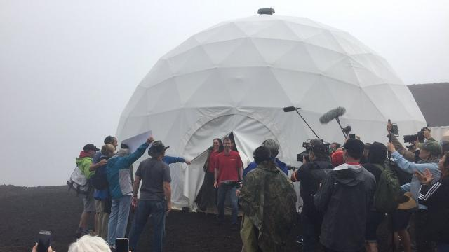Mock Mars mission ends in Hawaii